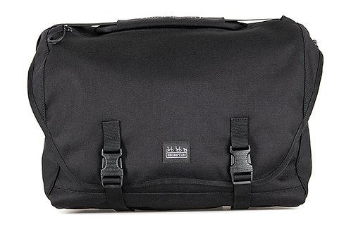 Brompton Metro Messenger Bag Large in Black