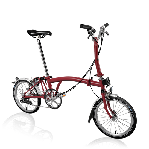 Brompton M6L House Red
