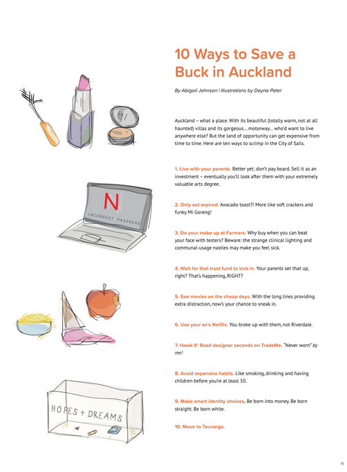 10 Ways to Save a Buck in Auckland