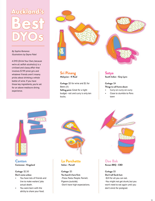 Auckland's Best DYOs