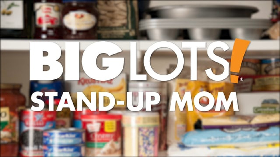 BIG LOTS - STAND-UP MOM - STOCKTOBER