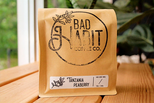 4oz Sample Tanzania Peaberry