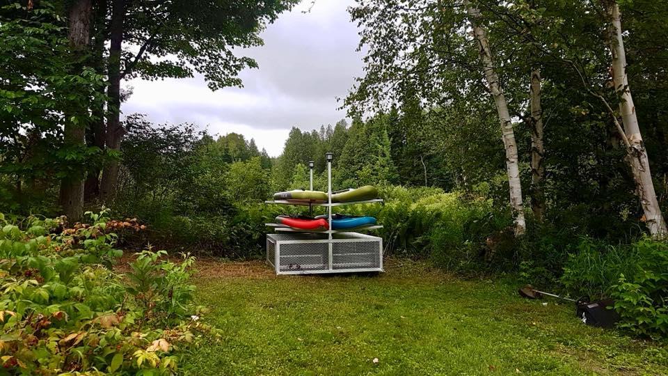 rack de rangement pour paddle board