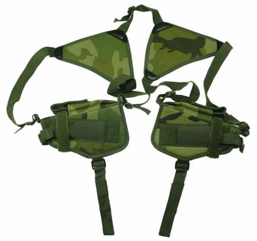 Woodland Double Horizontal Shoulder Holsters