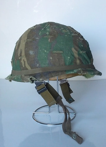 US Army Surplus M1 Helmet w/ ERDL Cover