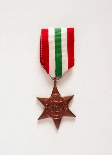 Canadian WWII Italy Star Medal