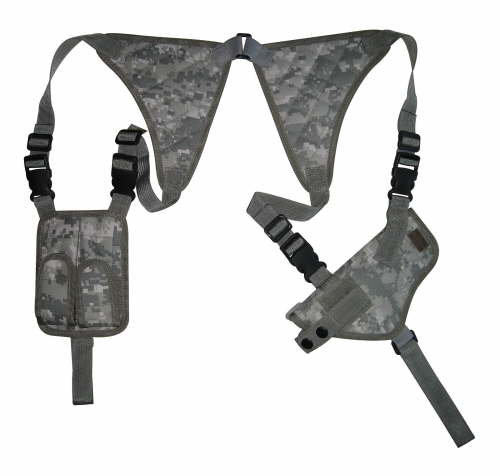 ACU Digital Shoulder Holster and Mag Pouch