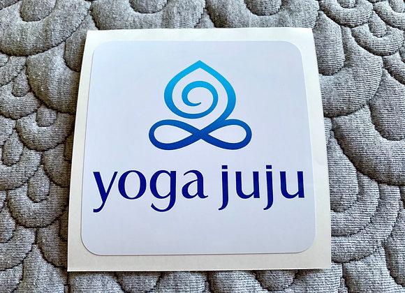 Yoga Juju Sticker | stacked