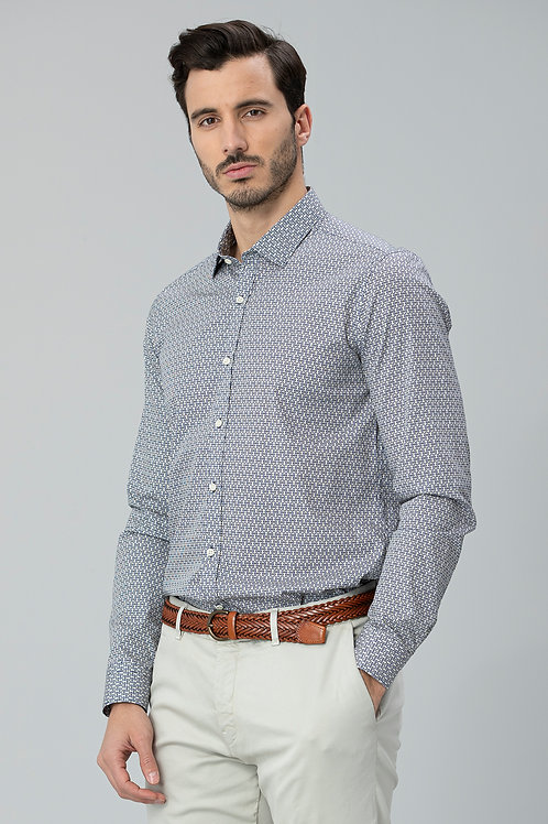 Lufian Slim Fit Focus Smart Gömlek