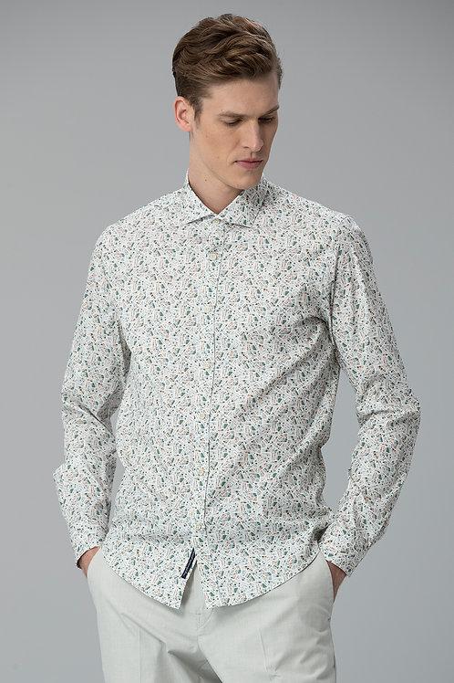Lufian Slim Fit Kippa Smart Gömlek