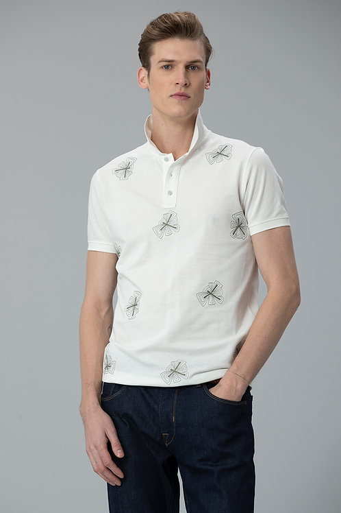 Lufian Alpaca Spor Polo T- Shirt