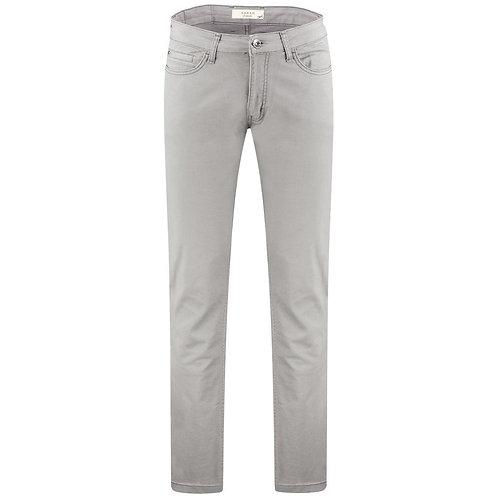 Sarar Modern Fit Costelle Spor 5 Cep Pamuk Pantolon Koyu Gri