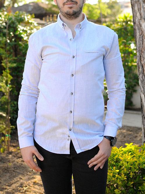 İnterview Sarar Goias Keten Slim Fit Gömlek GK001