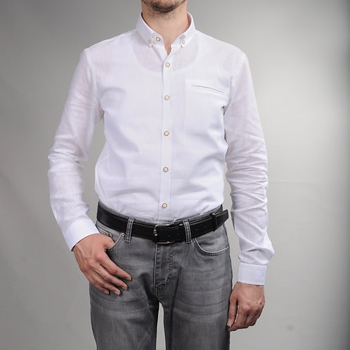 İnterview Sarar Keten Gömlek GK005