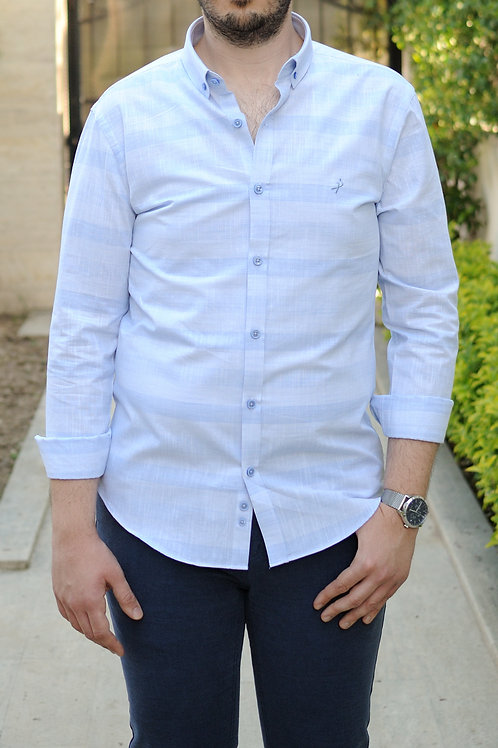 İnterview Sarar Goias Keten Slim Fit Gömlek GK003