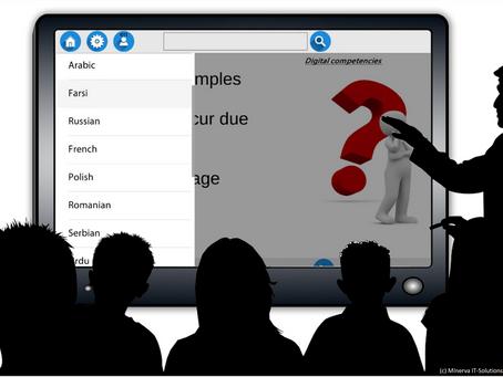 Mehrsprachige Lernapp Poly-Teach bei der Initiative Gruppe