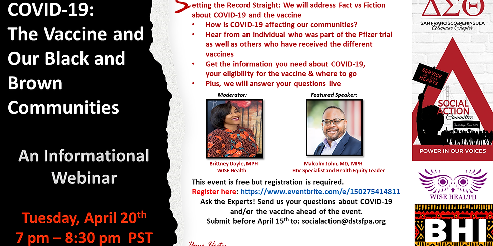 COVID-19: The Vaccine and Our Black and Brown Communities