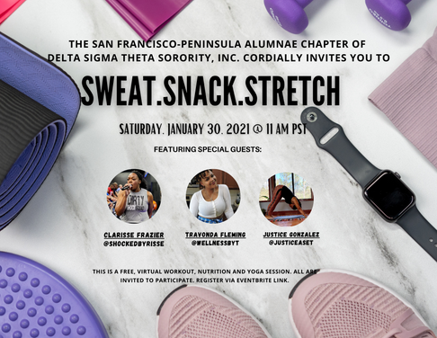 Sweat.Snack.Stretch