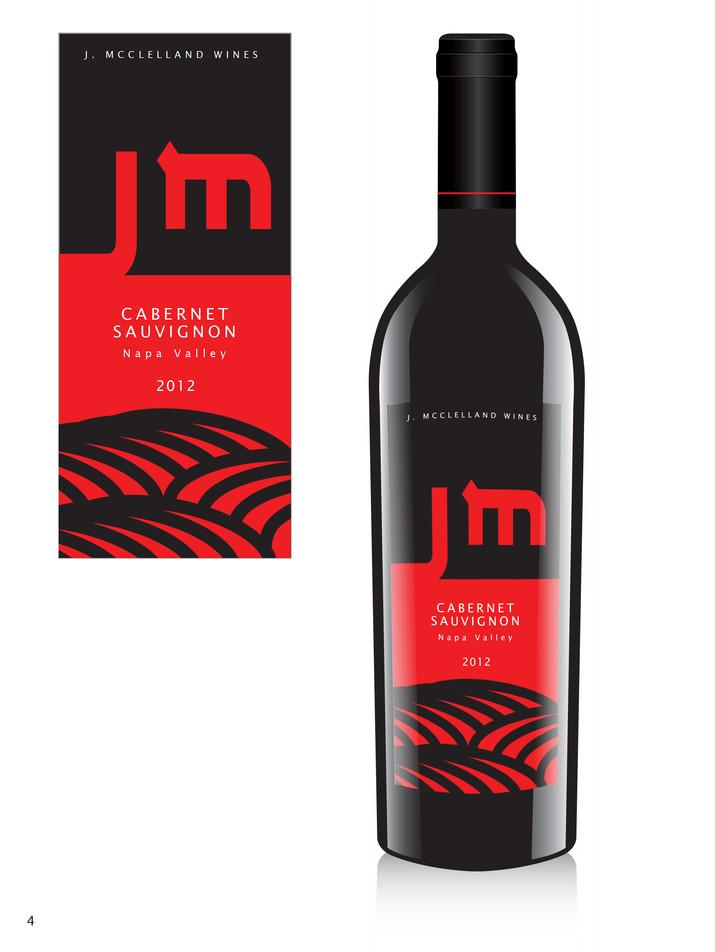 J.McClelland Wine Label 4