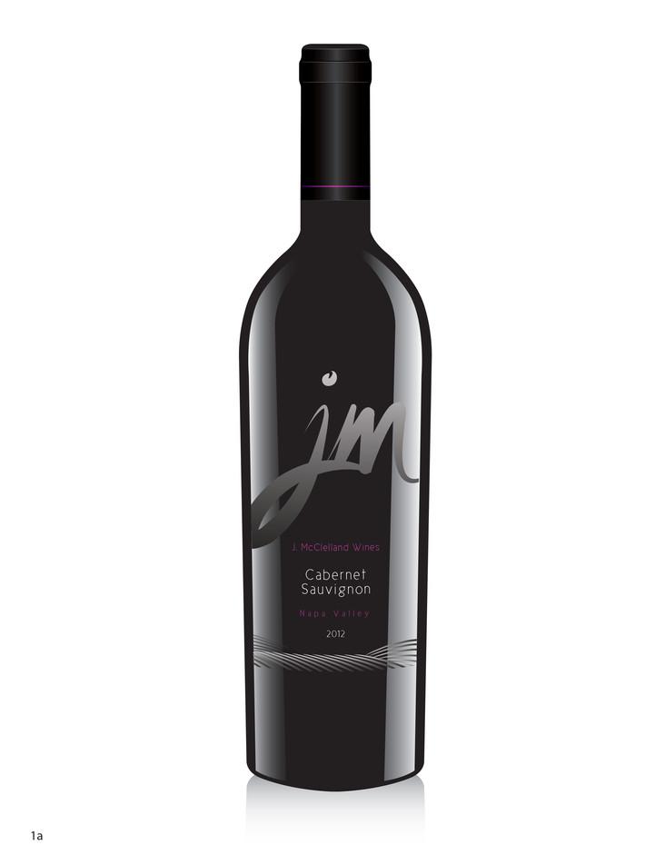J.McClelland Wine Label 1a