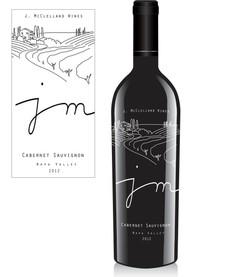 J.McClelland Wine Label 2