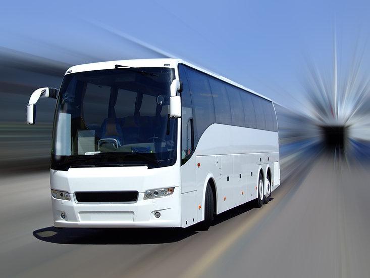 Aluguel de ônibus com wc no DF