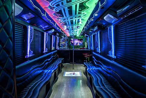 Corredor do Las Vegas Party BUs
