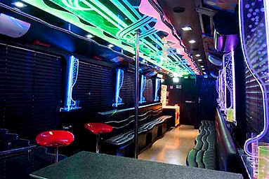 Las Vegas Party bus boate intinerante.