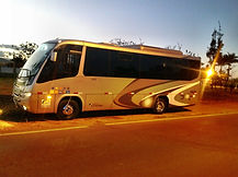 locação de micro onibus com wc em Brasília - DF.
