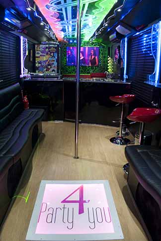 Pole dance Las Vegas Party BUs