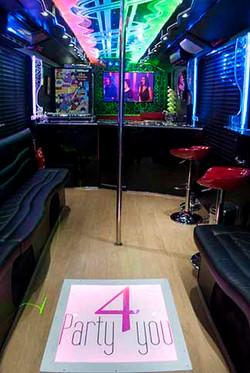 Pole dance Las Vegas Party BUs