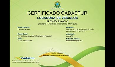 certificadi CADASTUR