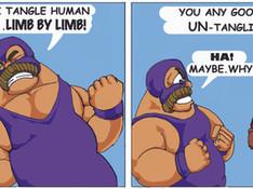 Ole Champ Comic Strip