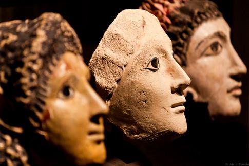 Totengesichter - © zoo-o-grafie - AWa / Museum ägyptischer Kunst