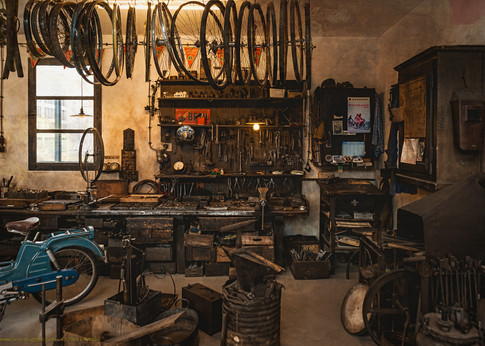 In der Werkstatt - © zoo-o-grafie - AWa / Verkehrsmuseum