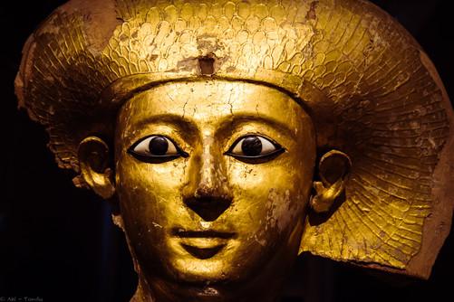 Goldgesicht - © zoo-o-grafie - AWa / Museum ägyptischer Kunst