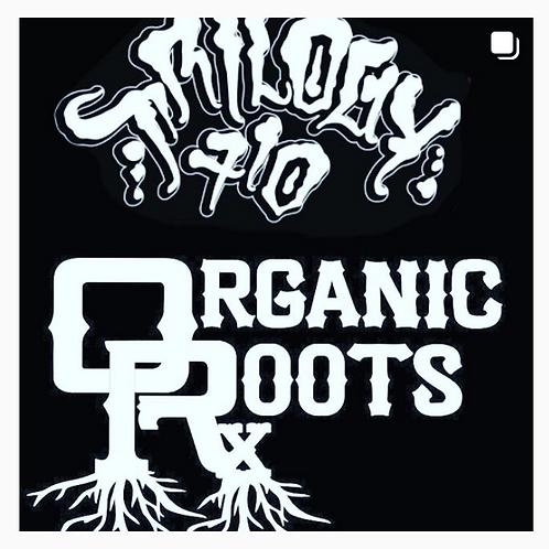 Trilogy 710 x @organicroots - Ice Cream Cake 70-120u (2.0g)