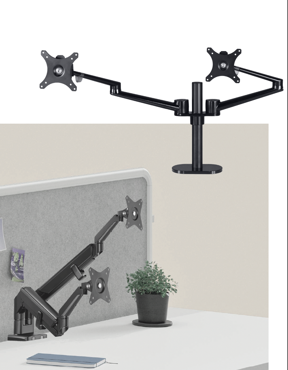 new for 2021 ~ monitor arms