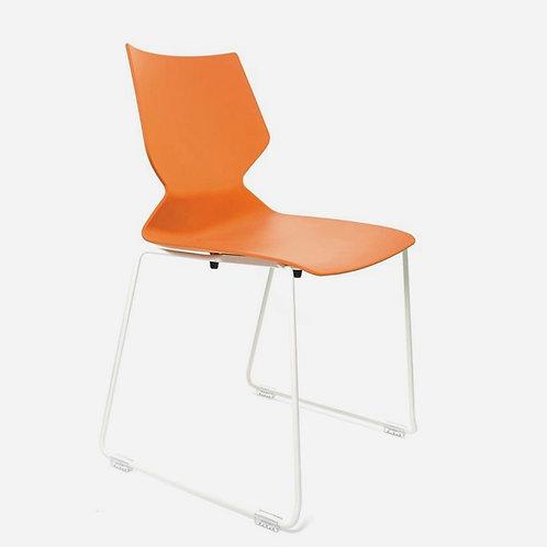 VX Fly Sled (orange on white)