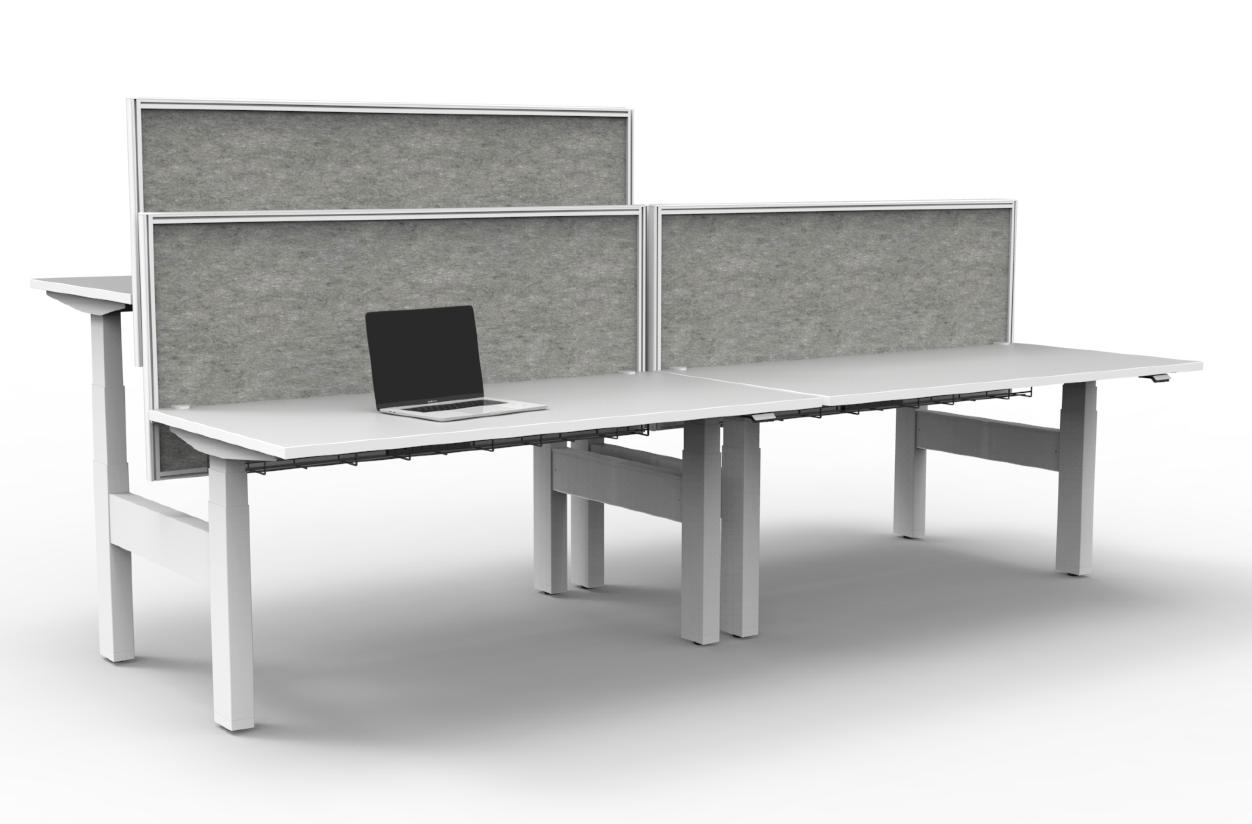 V6 framed screens desk mount