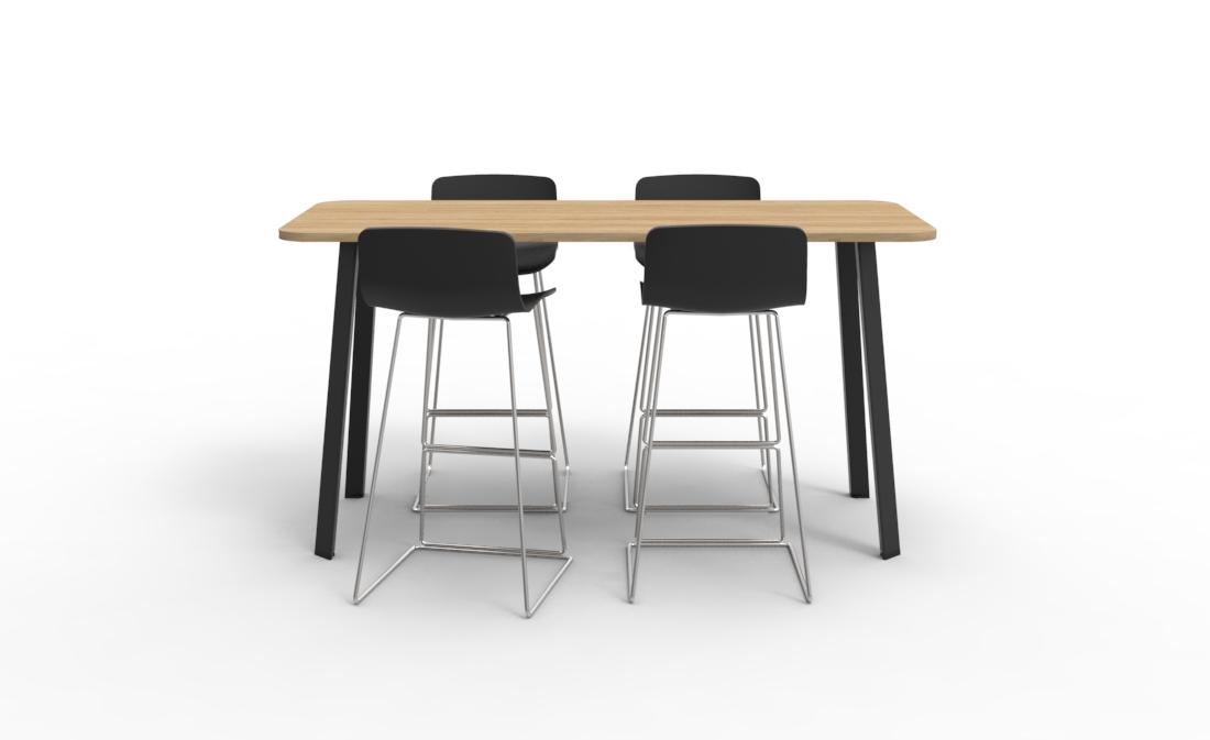 V6 high blade table