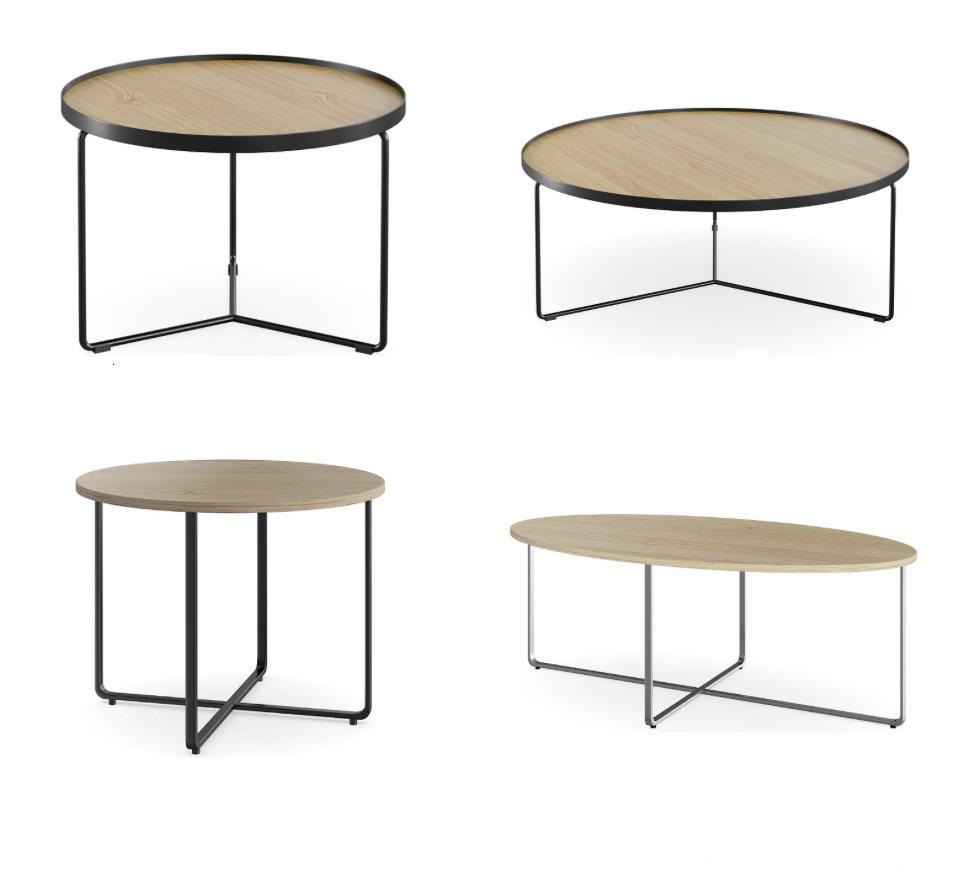 V8 coffee tables