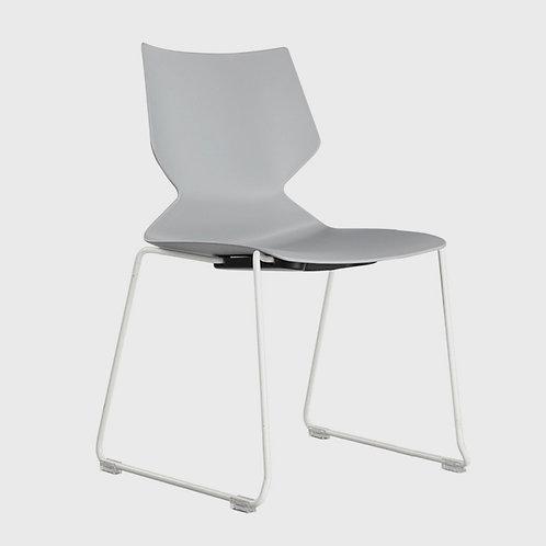 VX Fly Sled (grey on white)