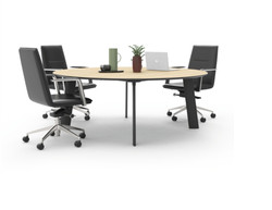 V6 blade meeting table round