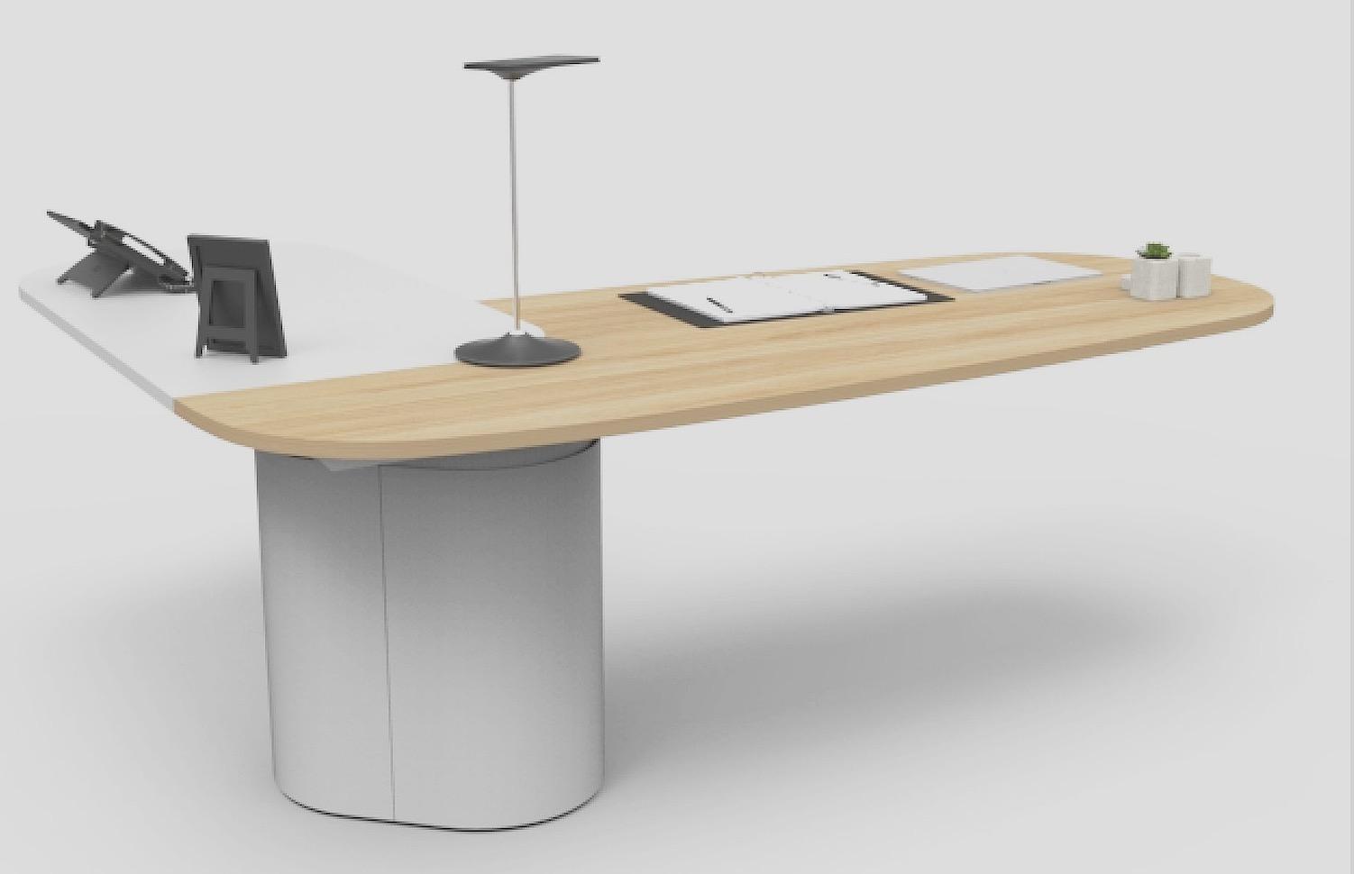 V6 executive desk. VYSTAN