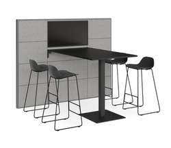 V8 media wall + collaboration table