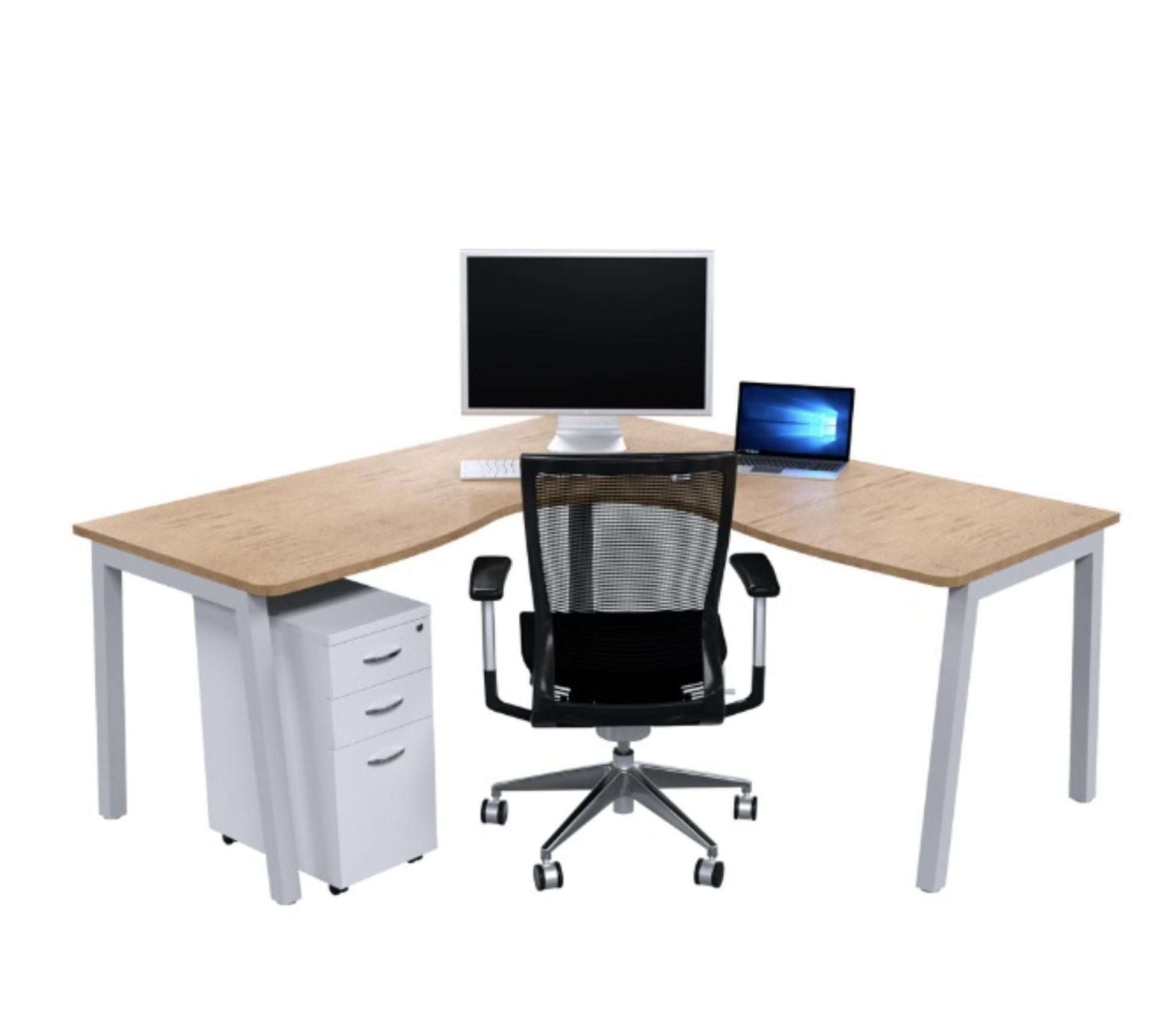 V16 L2 collection corner desk