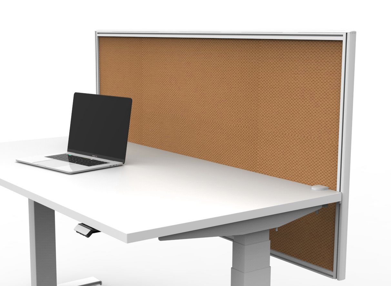 V6 PET desk mount screen framed