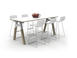 V6 plantation high table
