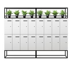 V8 personal lockers